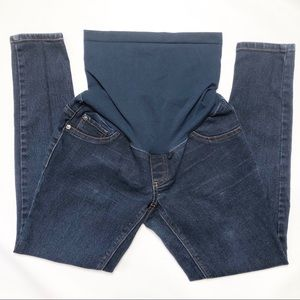 Indigo Blue From Motherhood Maternity Skinny Jeans